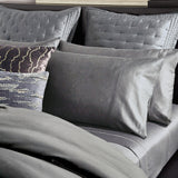 Donna Karan Silk Indulgence Duvet Set Charcoal