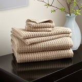 DKNY Quick Dry 6-Pack Towel Set Linen