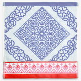 John Robshaw Mitta Periwinkle Wash Cloth Towel Collection
