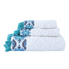 John Robshaw Aloka Blue Towel Collection