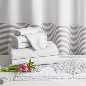 Peri Home Mingled Stripe 6 Piece Towel Set