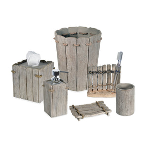Destinations Driftwood Bath Accessories