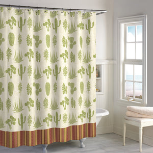 Destinations Southwest Cactus Shower Curtain
