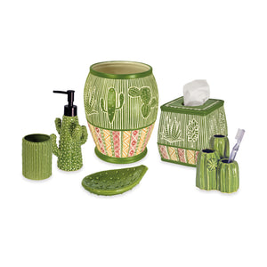 Destinations Southwest Cactus Bath Accessories