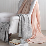 Peri Home Woven Damask Blanket