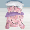 Dream Factory Je T'aime Paris Cotton Comforter Set