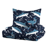 Dream Factory Sharks Cotton Comforter Set