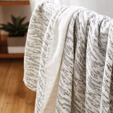 Uchino Gauze Twist Cloud Print Towel