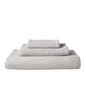 Uchino Gauze Twist Wicker Print Towel