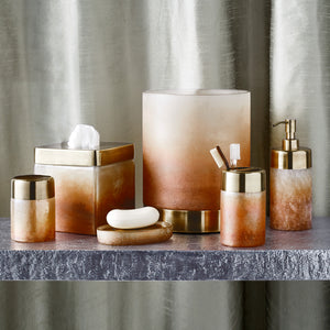 Michael Aram Torched Bath Accessories