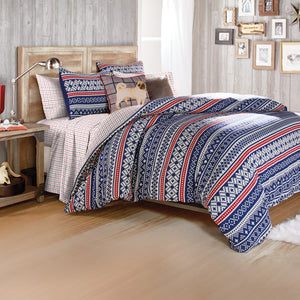 G.H. Bass & Co. Fair Isle Comforter Set