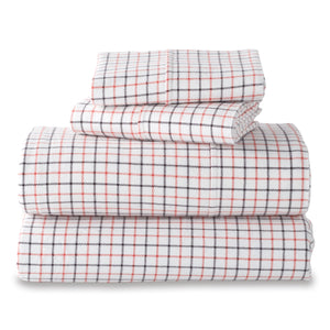 G.H. Bass & Co. Small Check Sheet Set