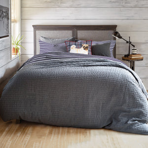 G.H. Bass & Co. Stripe Flannel Comforter Set