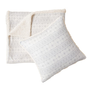 G.H. Bass & Co. Fair Isle Throw And Pillow Set