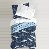 Dream Factory Sharks Bed In A Bag Comforter Set