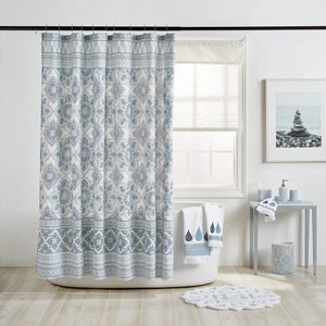 Peri Home Capri Medallion Shower Curtain