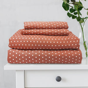 Great Hotels Collection Swiss Dot Sheet Set