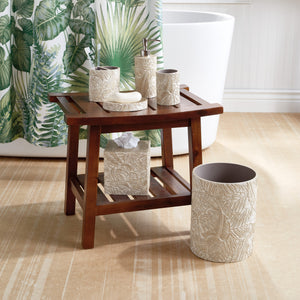 Destinations Palm Wood Bath Accessories