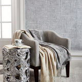MIchael Orchid Throw Linen