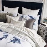 Michael Aram Metallic Textured Coverlet