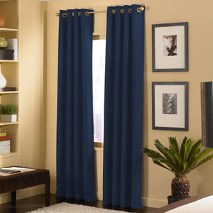 Curtainworks Cameron Window Curtain Panel Navy