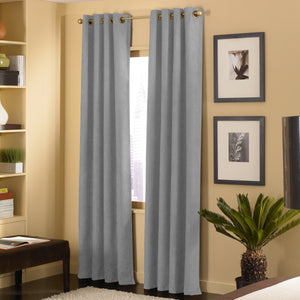 Curtainworks Cameron Window Curtain Pewter