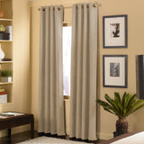 Curtainworks Cameron Window Curtain Panel Sand