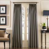 Curtainworks Marquee Window Curtain Panel Pewter