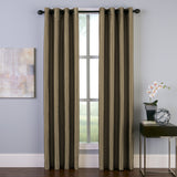 Curtainworks Malta Window Curtain Panel Bronze