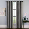 Curtainworks Malta Window Curtain Panel Pewter