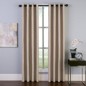 Curtainworks Malta Window Curtain Panel Sand