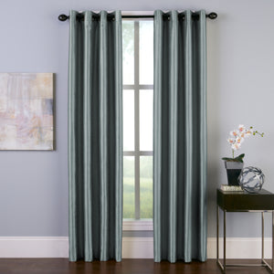 Curtainworks Malta Window Curtain Panel Teal