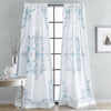 Peri Home Farrah Poletop Window Curtain Panel Aqua