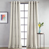 Calista Microsculpt Window Curtain Panel Taupe