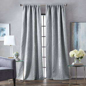 Martha Stewart Milan Window Panel Grey