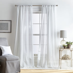 Martha Stewart Hampton Stripe Curtain Panel