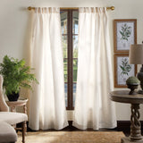 Martha Stewart Faux Silk Curtain Panel