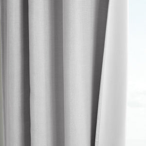 Martha Stewart Park Avenue Curtain Panel Silver