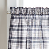 Curtainworks Seaton Plaid Tiers