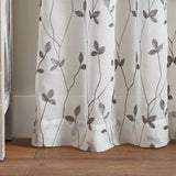 Curtainworks Botanical Embroidery Curtain Panel Pair