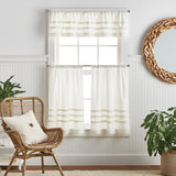 Martha Stewart Water's Edge Tufted Curtain Panels