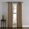 Curtainworks Lenox Window Curtain Panel Taupe