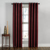 Curtainworks Lenox Window Curtain Panel Wine