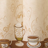 Curtainworks Café au Lait Tier & Valance Set