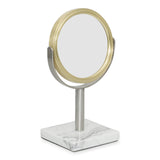 DKNY Mixed Media Bath Accessories Mini Mirror