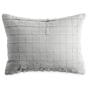 DKNY PURE Applique Decorative Pillow Grey