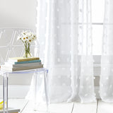 DKNY Ella Window Curtain Panel White