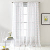 DKNY Ella Window Curtain Panel Pink