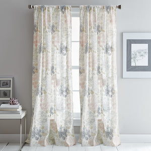 DKNY Floral Fields Curtain Panel Pair