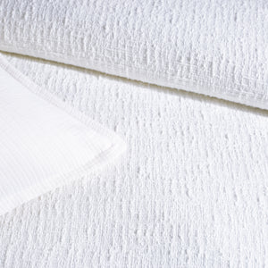 DKNY PURE Texture Bedding Duvet Collection White